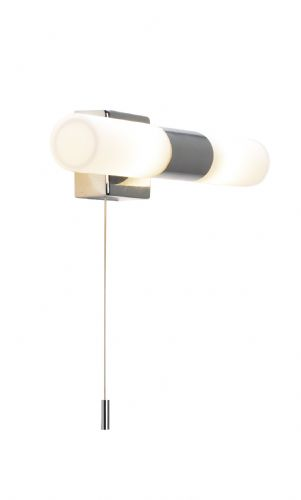 Bueno 2-light Polished Chrome IP44 Wall Light BUE0950 (020583)